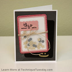 Scalloped Die Card - 3