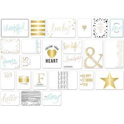 Studio Gold Journaling Cards - 3