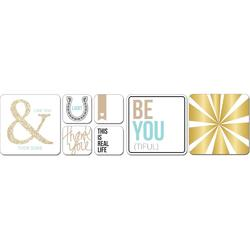 Studio Gold Albums Made Easy Journaling Cards - 3
