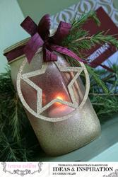 Tinsel  & Company Ornament - HVĚZDA - 3