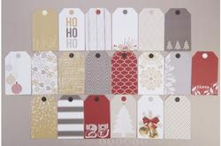 Tinsel  & Company Cardstock Tags 20 pkg - 3