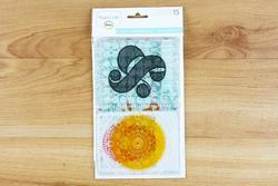 Transparencies Themed Cards 15pkg - 3