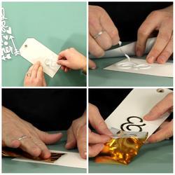 Wanderlust Gold Together Stickers & Foil Kit - 3