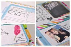 Project Life® Weekly Planner/Info Calendar Pages & Dividers 6x8 - 3