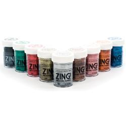 Zing! Glitter Embossing Powder - modrý - 3