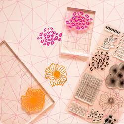 Brave & Bold Acrylic Stamps 10/Pkg - 4