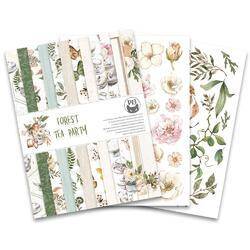"Forest Tea Party Double-Sided Paper Pad 6""X8"" 24/Pkg - 4"