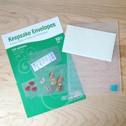 Keepsake Envelopes 10/Pkg - 4