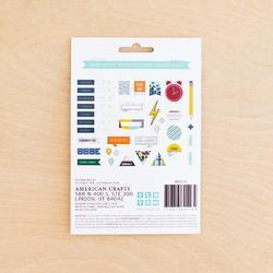 Sharp Project Life Ephemera Die-Cut Shapes 40/Pkg - 4