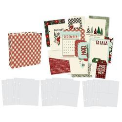 "Sn@p! Jingle All The Way Binder 6""X8"" - 4"