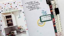 Studio Calico Stamp Set 4x6 Document Numbers - 4