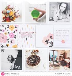 "Bella Rouge Journaling Cards 4""x4"" 18 pkg - 4"
