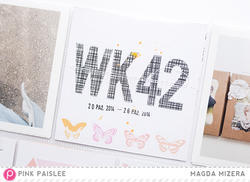 Bella Rouge Printed Transparent Alphabet 107 pkg - 4