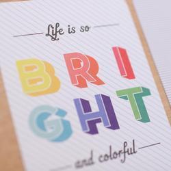 Bright & Bold Core Kit - 1/2 originální sady - 4