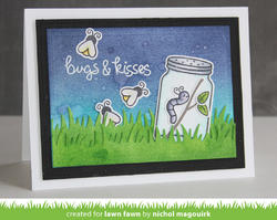 Bugs & Kisses Clear Stamps - 4