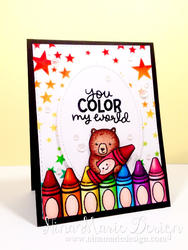 Color My World Clear Stamps - 4