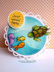 Critters In The Sea Clear Stamps - 4
