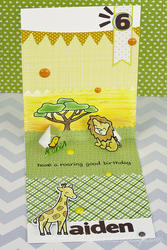 Critters On The Savanna Clear Stamps - 4