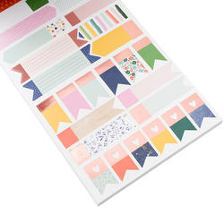 Designer #Sticker Book Dear Lizzy w/Rose Gold Foil - 4