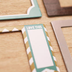 Explore Die-Cut Chipboard Photo Frames - 4