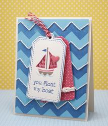 Float My Boat Clear Stamps - 4
