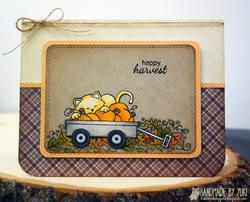 Happy Harvest Clear Stamps - 4