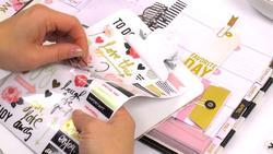 Hello Beautiful Sheer Stickers - 4