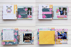 Inked Rose Project Life Journaling Cards 100 pkg - 4
