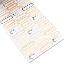 Designer #Sticker Book Jen Hadfield w/Gold Foil - 4