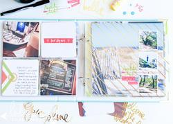 """Stripe Ring Album 8""""x8"""" - 4"""