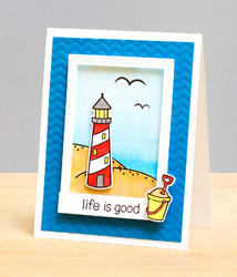 Life is Good Clear Stamps - 4