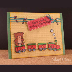 Pa-Rum-Pa-Pum-Pum Clear Stamps - 4