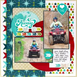 """Perfect Vacation Paper Pad 12""""X12"""" - 4"""