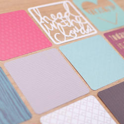 Phrase Die-Cuts Cards 4x4 Project Life® - 4