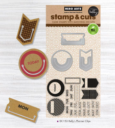 Planner Clips Stamps & Die - 4
