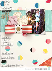 Shimelle Dunbar/Gold Foil Thickers Alpha Stickers - 4