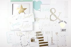 Studio Gold Journaling Cards - 4