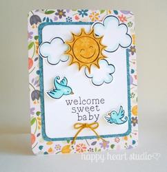 Sunny Skies Clear Stamps - 4