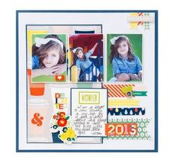 True Stories Paper Pad 12x12 - 4