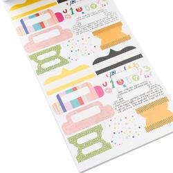 Designer #Sticker Book Vicki Boutin w/Gold Foil - 4
