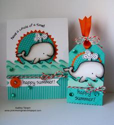 Critters In The Sea Clear Stamps - 5