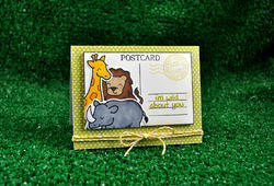 Critters On The Savanna Clear Stamps - 5