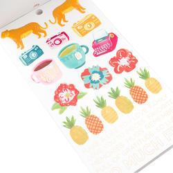 Designer #Sticker Book Amy Tan w/Gold Foil - 5