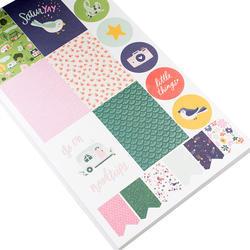 Designer #Sticker Book Dear Lizzy w/Rose Gold Foil - 5