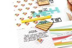 Felicity Vellum Alpha Stickers - 5