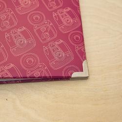"Knick Knack - Camera Print Designer D-Ring Album 12""X12"" - 5"