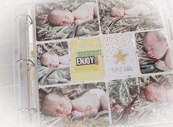 Plastové kapsy (12 ks) - Photo Pocket Pages Gold Foil - 5