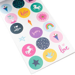 Designer #Sticker Book Shimelle w/Holographic Foil - 5