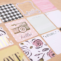 "Sweet Project Life Die-Cut Card Pack 4""x4"" 12 pkg - 5"