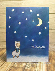 Winter Alpaca Clear Stamps - 5